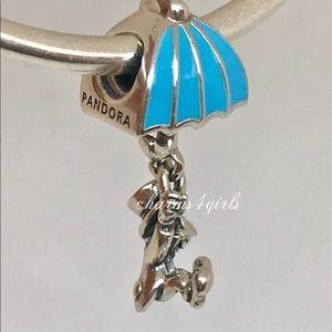 Authentic Pandora Disney Jiminy cricket charm
